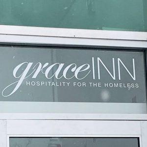 grace inn shelter doors